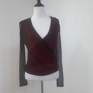 Allison Taylor silk blouse